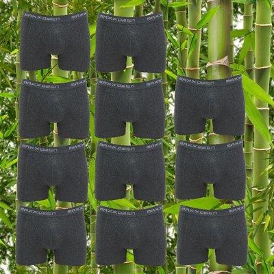 10+1 gratis Bamboe heren Boxershorts Maxx Owen Antraciet