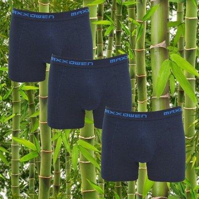 3-pack bamboe heren boxershorts Maxx Owen Marine