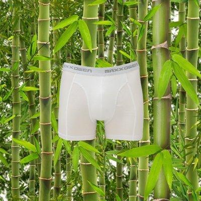 Bamboe heren Boxershort Maxx Owen Wit