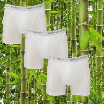 3-pack bamboe heren Boxershorts Maxx Owen Wit