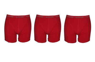 3-Pack Heren Boxershorts Maxx Owen Chilipepper
