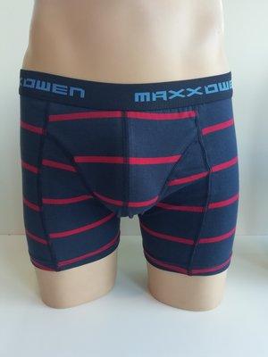 Heren Boxershort Maxx Owen gestreept Rood