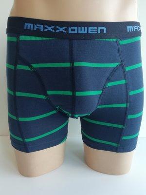 Heren Boxershort Maxx Owen gestreept Groen