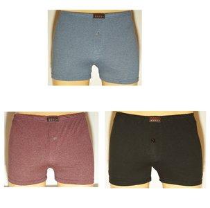 Basic 3-Pack Heren boxershorts gekleurd