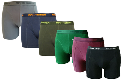 6-pack Heren Boxershort Maxx Owen Assorti