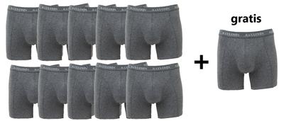 10+1 gratis Heren boxershorts Maxx Owen Antraciet