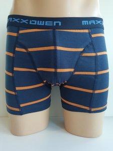 Heren Boxershort Maxx Owen gestreept Oranje