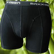 Bamboe heren boxershort Maxx Owen Zwart