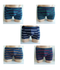 5-pack heren boxershorts Maxx Owen gestreept Assorti_